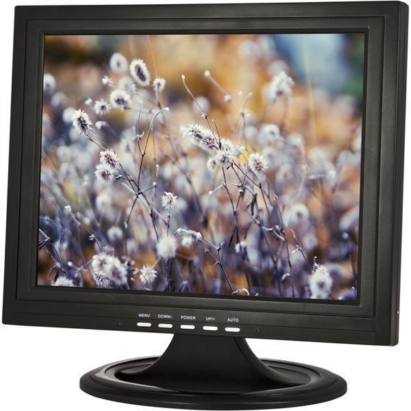 """15 TFT-näyttö analoginen TV-viritin VGA/RCA/S-VIDEO musta"""""""
