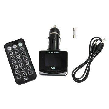 AIV FMT893 RDS FM-Lähetin / MP3-Soitin / USB-Autolaturi