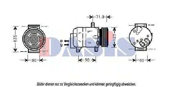 Aks Dasis Kompressori Ilmastointilaite