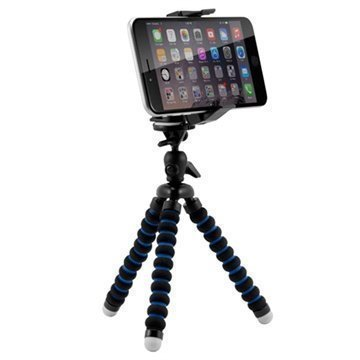 Arkon Mobile Grip 2 Mini Tripod Universaali Puhelinjalusta Musta