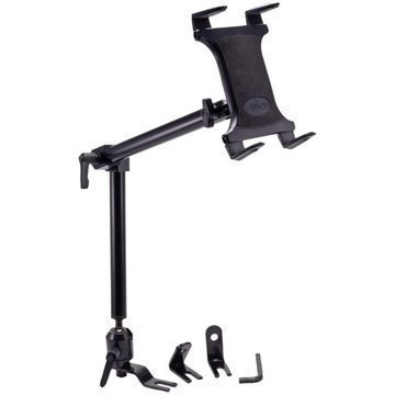 Arkon TAB801 Heavy-Duty Tablet Car Holder Seat Rail / Floor Mount
