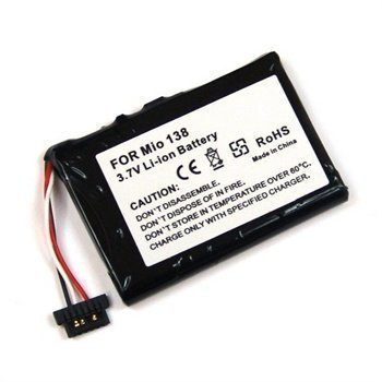 Battery Mitac Mio C710 Mio C510 Mio C510e Mio C310 Mio C310x 850 mAh