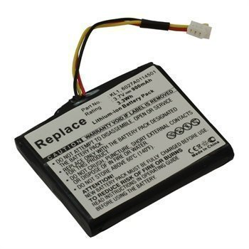 Battery TomTom Via 1535T Via 1535TM Z1230 Via 1505 900mAh