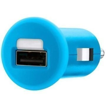 Belkin Mixit USB Car Charger Blue