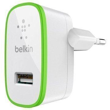 Belkin Yleismallinen USB Matkalaturi Valkoinen