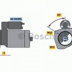 Bosch Käynnistinmoottori