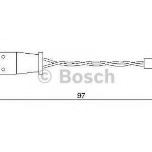 Bosch Kulumisenilmaisin Jarrupala