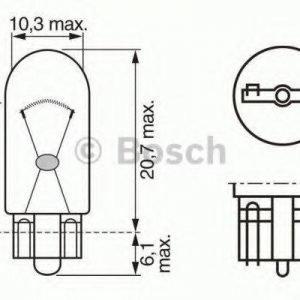 Bosch Polttimo Jarru-/Takavalo