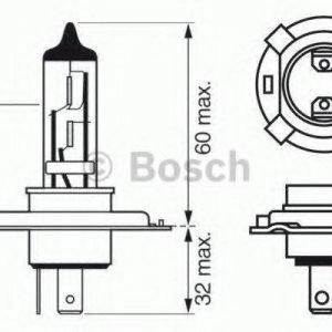 Bosch Polttimo Kaukovalo