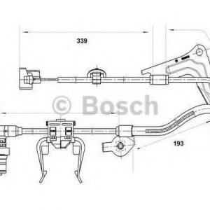 Bosch Tunnistin Kiertonopeus