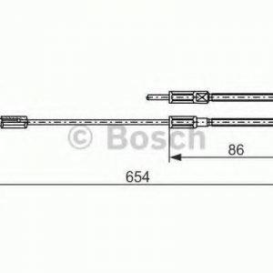 Bosch Vaijeri Käsijarru