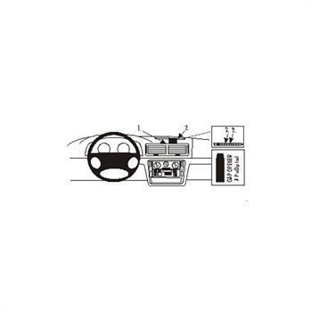 Brodit 213403 ProClip Volkswagen Passat 97-05a