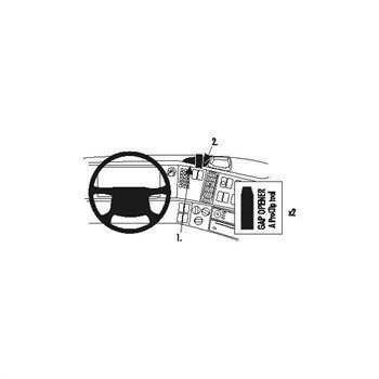 Brodit 213419 Kiinnitysalusta Volvo FH FM NH 03-07