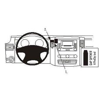 Brodit 213456 ProClip Mercedes Benz Sprinter 07-16