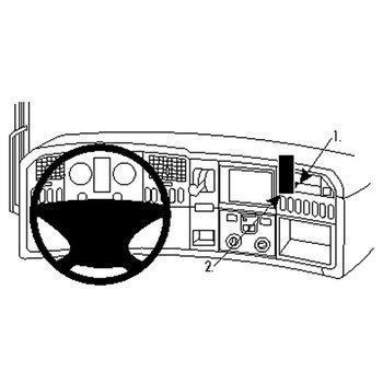 Brodit 213474 Kiinnitysalusta Scania R-series 10-16