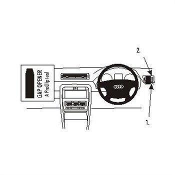 Brodit 602916 ProClip Audi A4 Avant 02-07