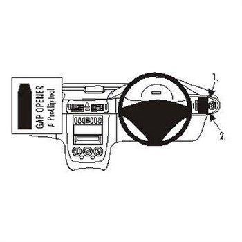 Brodit 603047 ProClip Mercedes Benz Vaneo 02-06