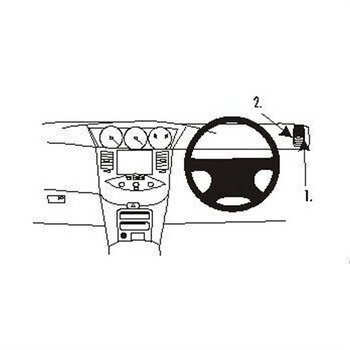 Brodit 603048 ProClip Nissan Primera 02-09