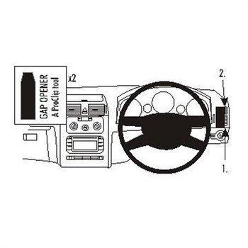Brodit 603268 ProClip Volkswagen Touran 03-15