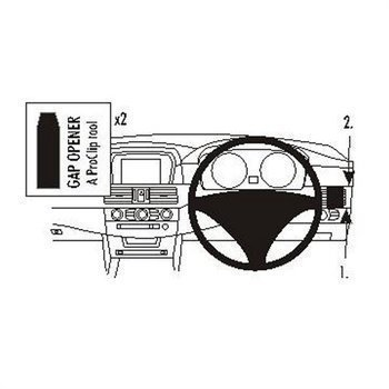 Brodit 603284 ProClip BMW 520-545 / M5 E60 E61 04-10