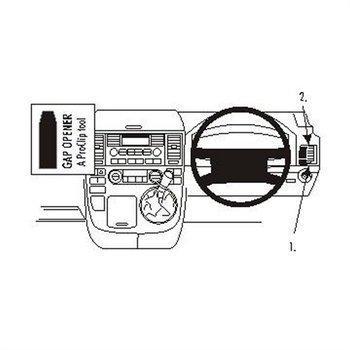 Brodit 603291 ProClip Volkswagen Multivan 03-15