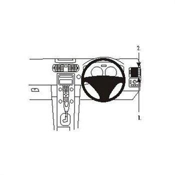 Brodit 603362 ProClip Volvo C30 07-15
