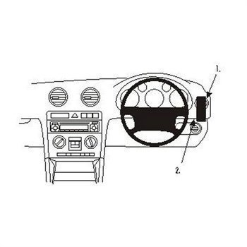 Brodit 603416 ProClip Audi A3 03-12