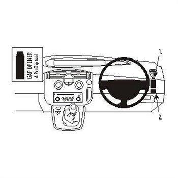 Brodit 603503 ProClip Renault Scenic 04-09