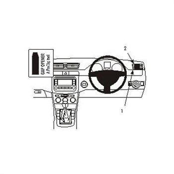 Brodit 603606 ProClip Volkswagen Passat 05-14