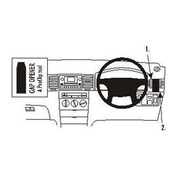 Brodit 603803 ProClip Toyota Corolla 02-07