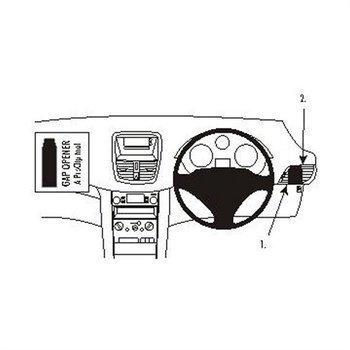 Brodit 603817 ProClip Peugeot 207 06-14