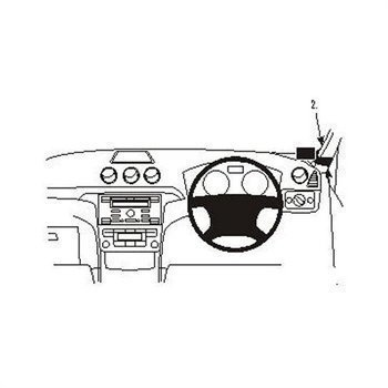 Brodit 603907 ProClip Ford S-Max 06-15