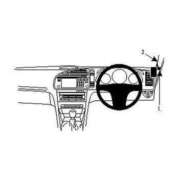 Brodit 604060 ProClip Saab 9-3 03-11