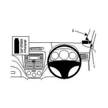 Brodit 604186 ProClip Subaru Forester 08-12