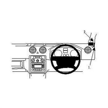 Brodit 604221 ProClip Volkswagen Caddy 04-16