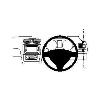 Brodit 604262 ProClip Volkswagen Golf VI 09-12