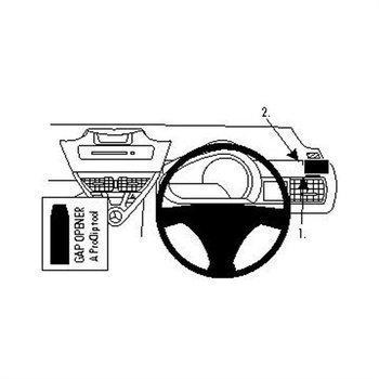 Brodit 604292 ProClip Toyota iQ 09-16