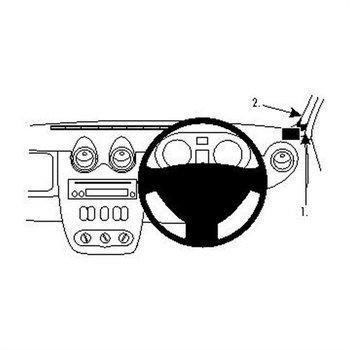 Brodit 604400 ProClip Dacia Duster 10-13