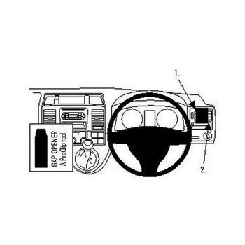 Brodit 604433 ProClip Volkswagen Caravelle 10-15