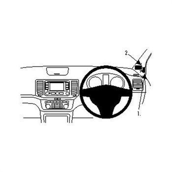 Brodit 604564 ProClip Volkswagen Sharan 11-16
