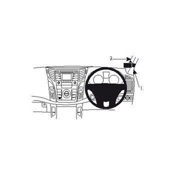 Brodit 604687 ProClip Hyundai i40 12-16