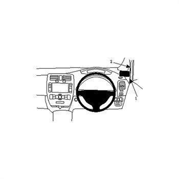 Brodit 604707 ProClip Nissan Leaf 11-16