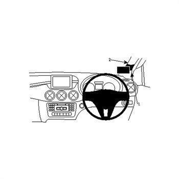 Brodit 604726 ProClip Mercedes Benz B-Class 12-16