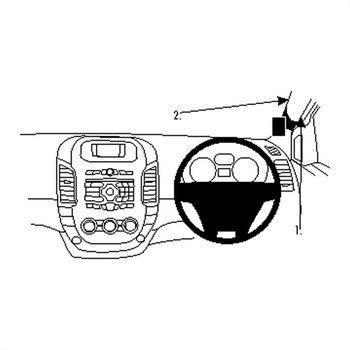 Brodit 604729 ProClip Ford Ranger 12-16