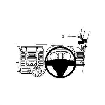 Brodit 604736 ProClip Volkswagen Caravelle 10-15
