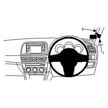 Brodit 604753 ProClip Mazda CX-5 12-16