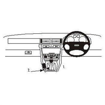 Brodit 632474 ProClip Audi A6 98-03