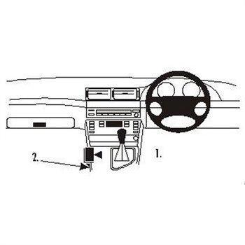 Brodit 632565 ProClip BMW 520-540/M5 E39 96-03