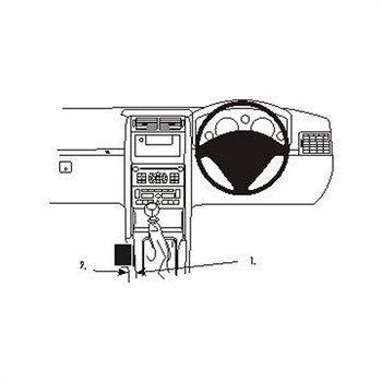 Brodit 633434 ProClip Peugeot 407 04-10