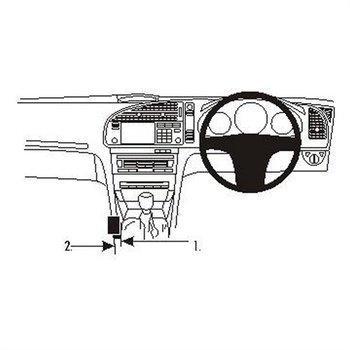 Brodit 633484 ProClip Saab 9-3 03-11